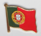Portugal Country Flag Enamel Pin Badge